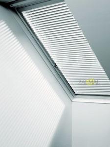 zaluzje aluminiowe velux dachowe
